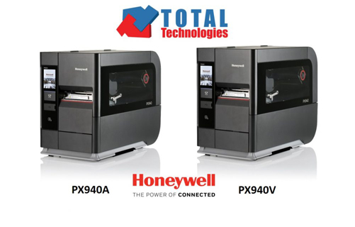 Imprimanta industrială Honeywell PX940 prin Total Technologies!