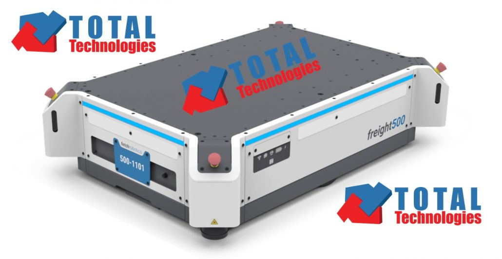 Total Technologies<sup>®</sup> automates your warehouse with Fetch Robots!