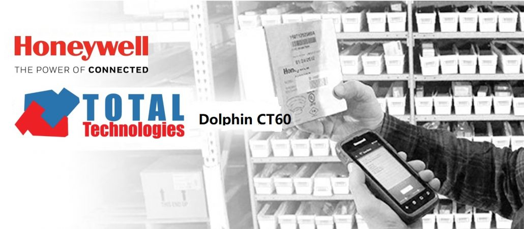 Total Technologies proposes the Honeywell Dolphin CT60 terminal!