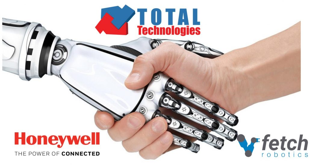 Total Technologies present at Expo Transit with partners Honeywell and Fetch Robotics!