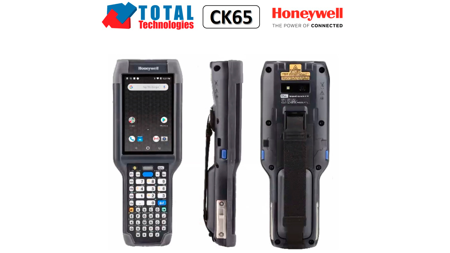 Total Technologies introduces you to the new Honeywell CK65!