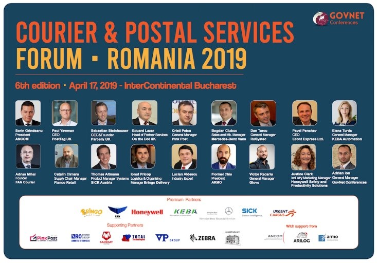 Total Technologies<sup>®</sup> present at Courier & Postal Services Forum- Romania 2019