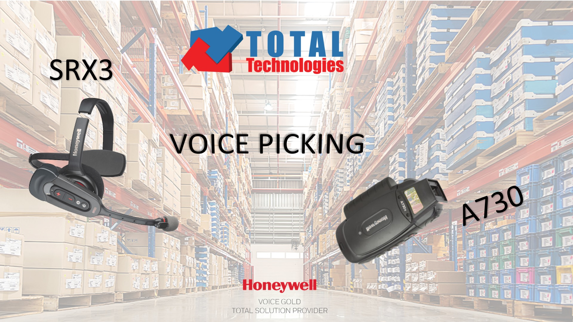 Total Technologies<sup>®</sup> introduces you to the new Honeywell Voice models!