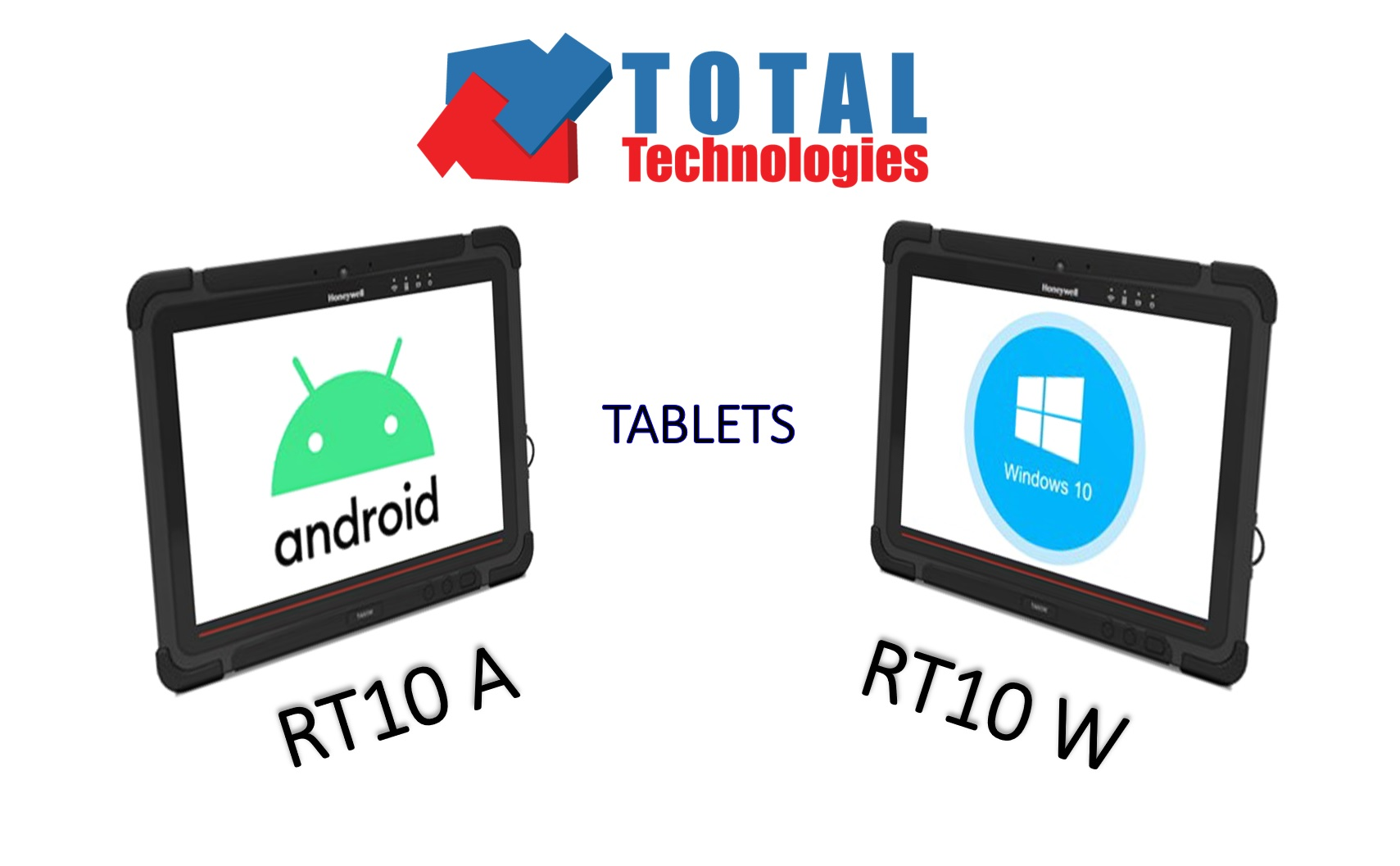 Total Technologies îți pune la dispoziție două variante de tablete RT10, Android și Windows