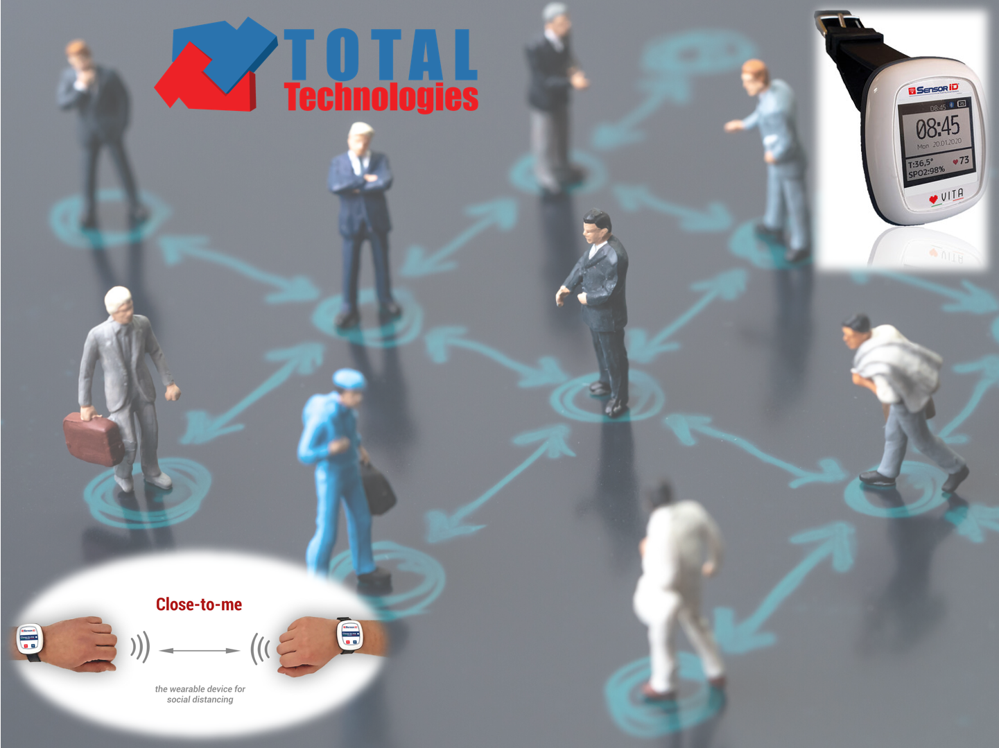 Total Technologies supports social distancing and healthcare with the